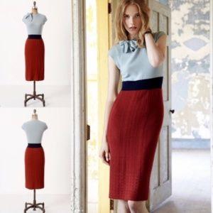 Tie-Neck Sweater Dress by Charlie & Robin Sz XS -